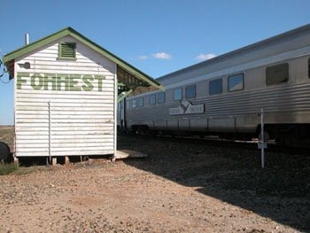 Indian Pacific Passes Forrest 4 times a week