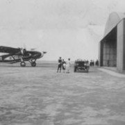 Arrival of first Vickers Vi