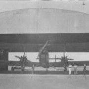 DH66 Hercules parked in Forrest
