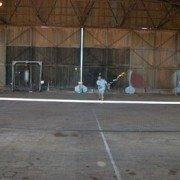 Hangar Tennis Under Lights 2